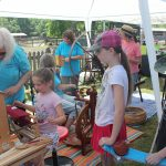 Spinning & Weaving Demo, Old McCaskill's Farm