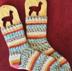 Socks Knitted by Rosemary