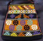 Swedish Art Weave Tote Handwoven by Debby 2017