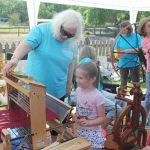 Spinning & Weaving Demo, Old McCaskill's Farm